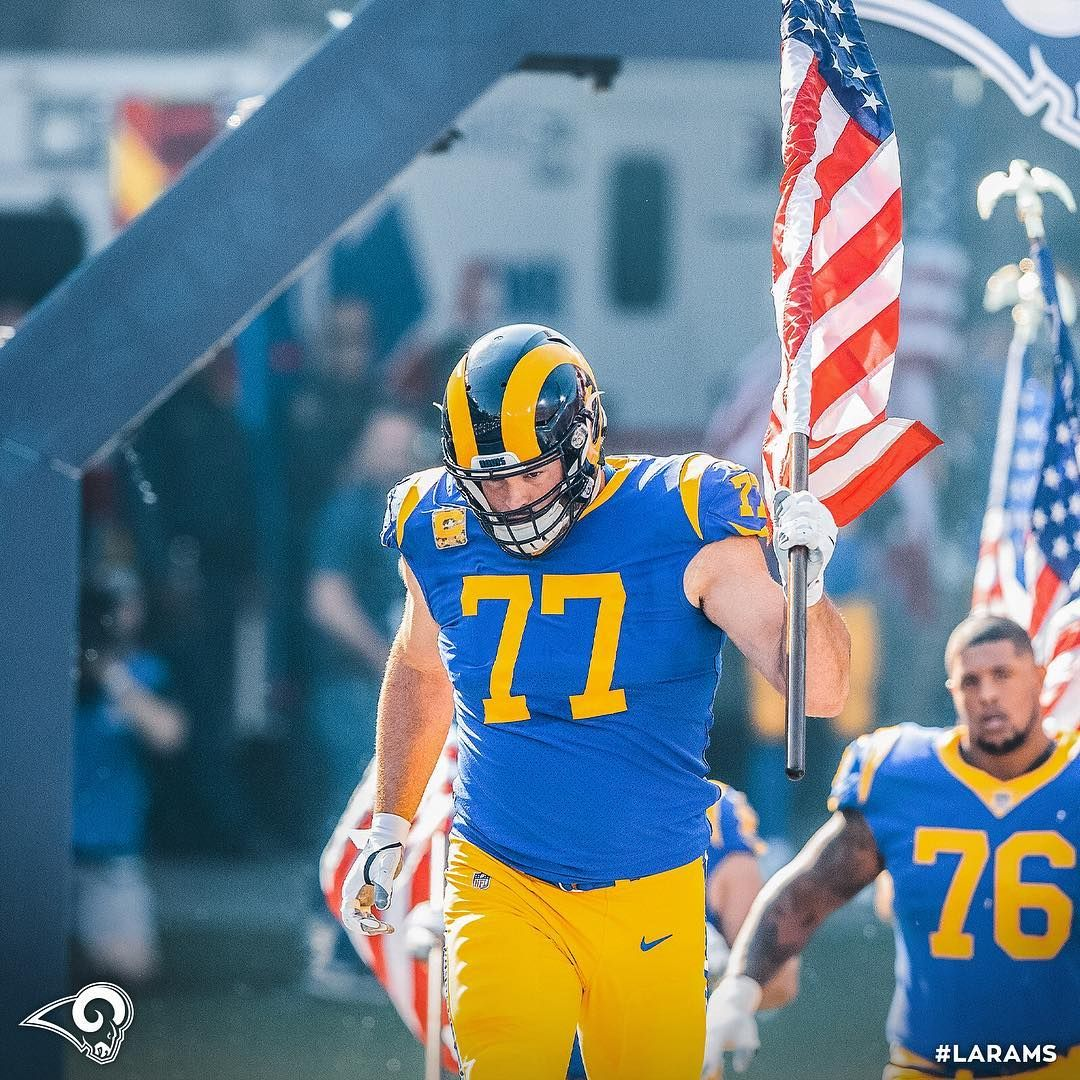 Los Angeles Rams On Instagram Our Captain Andrewwhitworth77 Has Donated His Game Check To Support The Families Of The 12 Victims From The Borderline Shootin