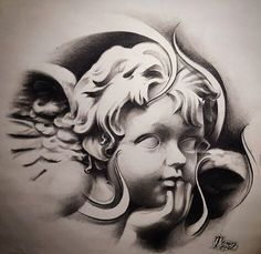 Chicano Arte Tattoos Tattoos Angel Tattoo Designs