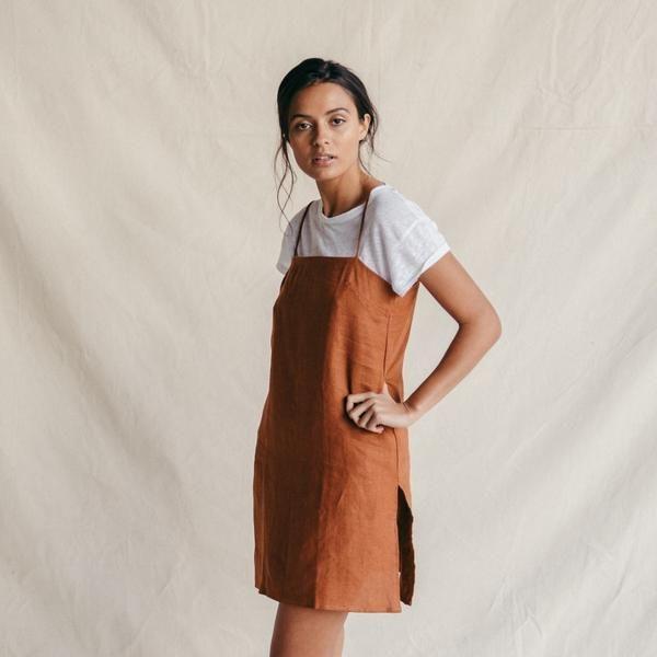 24788ddf3c ST. AGNI Carlea Summer Dress - Rust