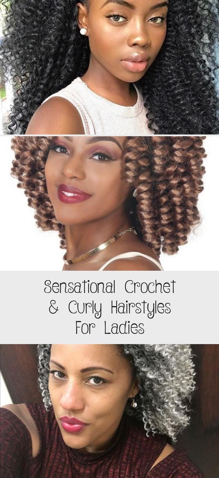 Sensationelle Häkel- und Lockenfrisuren für Damen – Frisur