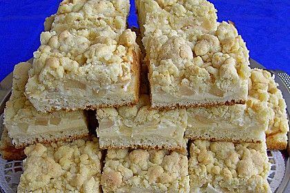 Apfel - Streusel - Kuchen (Rezept mit Bild) von hobbybäckerin1 | Chefkoch.de