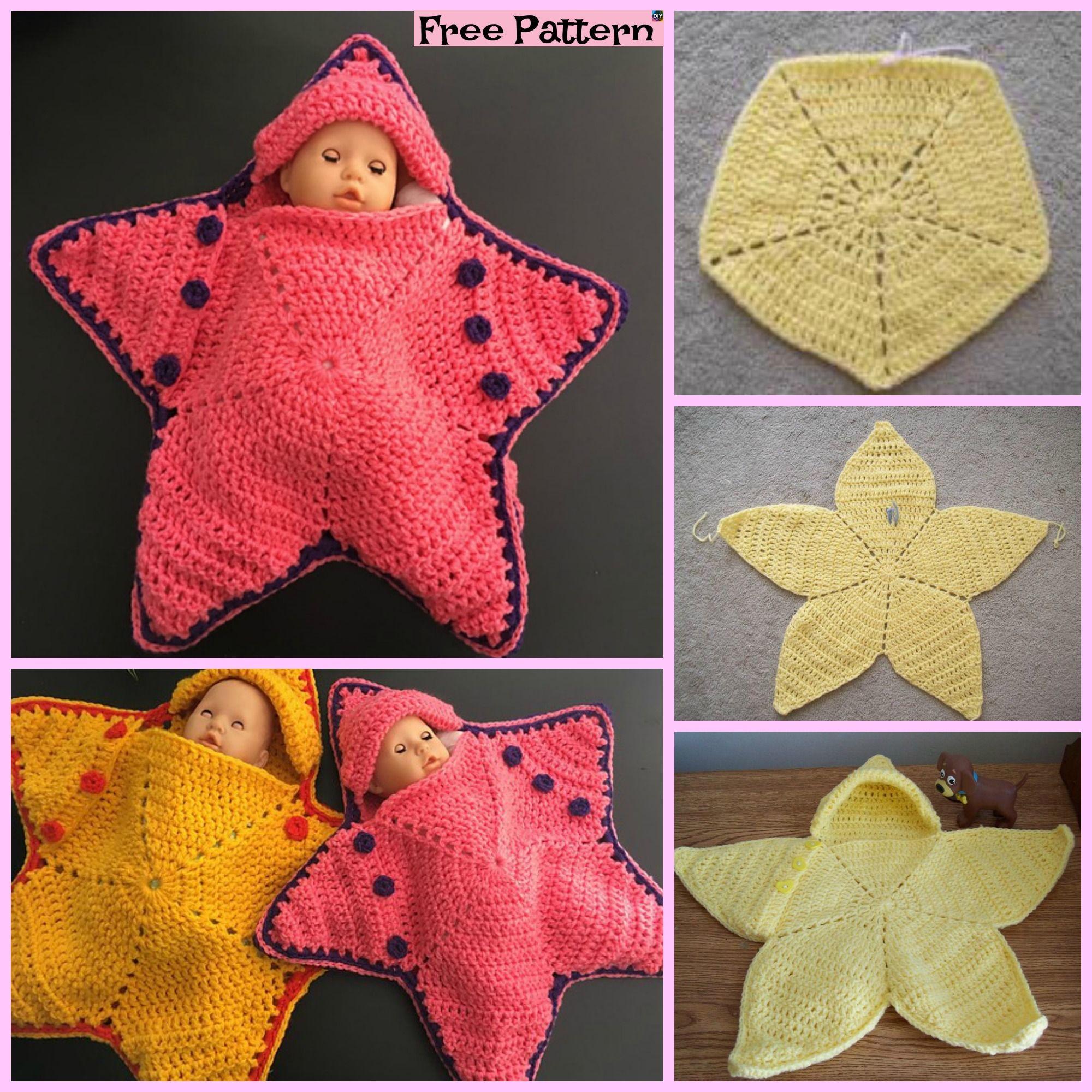 Cute Crochet Baby Star Bunting Free Pattern Crochet Pinterest