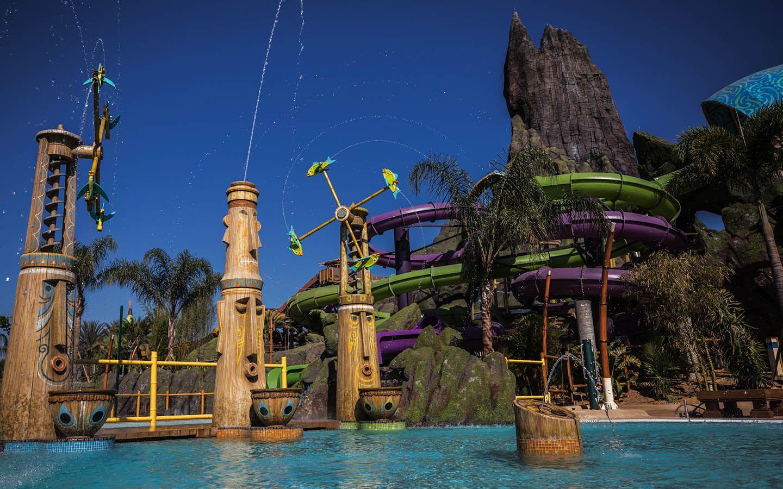 Universal Orlando Resort Volcano Bay Kids Play Area
