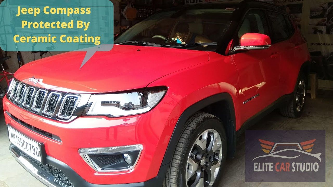Jeep Compass Protected By Ceramic Coating By Elite Car Studio In Mira Ro In 2020 Ceramic Coating Car Jeep Compass