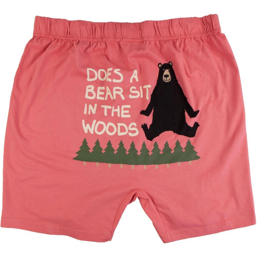 83c4c448a4f Does a Bear Sit in the Woods Men's Boxer Shorts | AnimalWorld.com ...