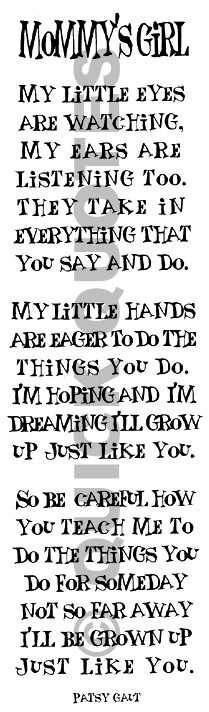 Mommy's girls ♥ | for me | Daughter quotes, Quotes, Mommys girl