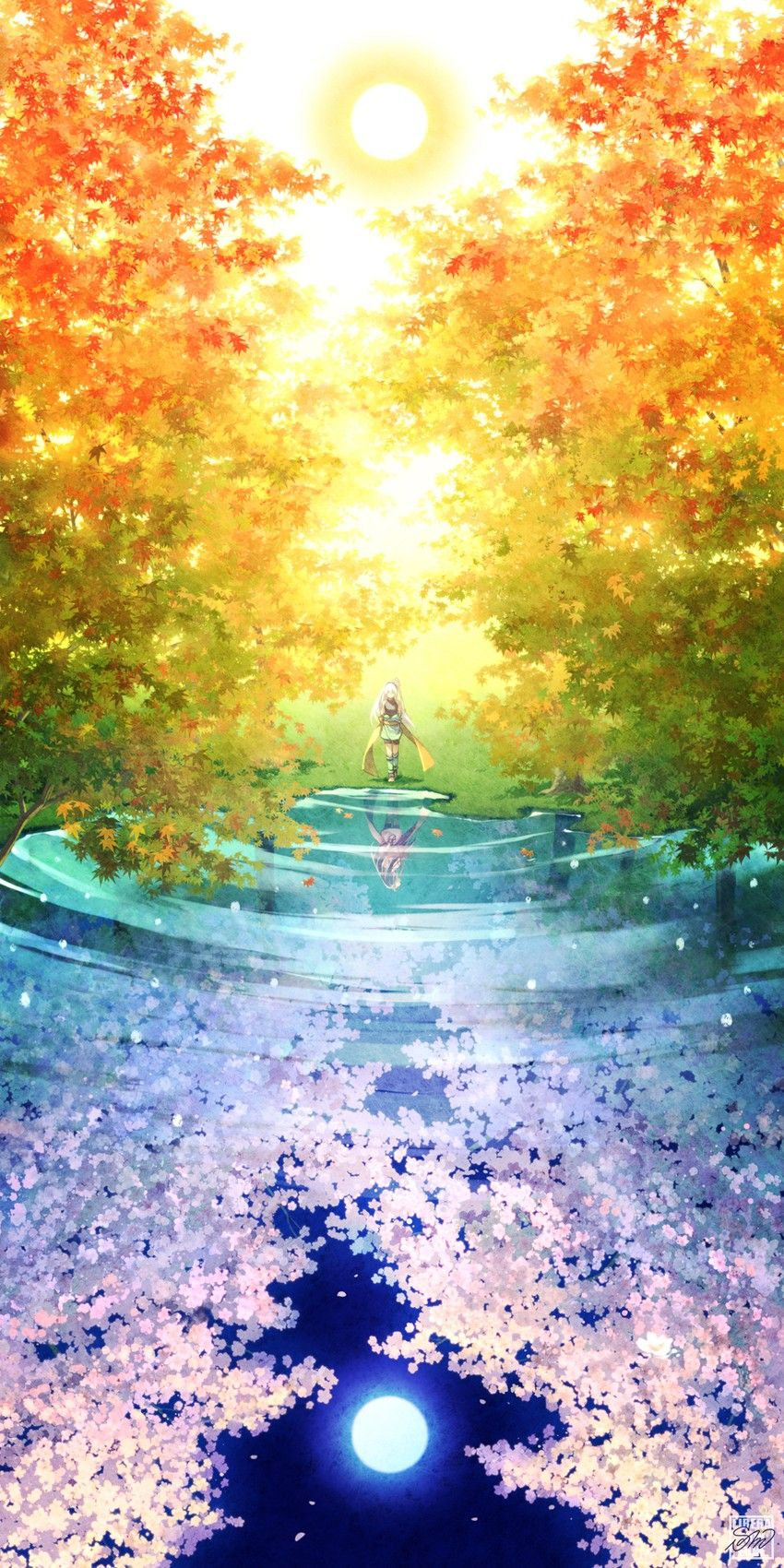 Mystic By Minami Seira Anime Scenery Wallpaper Anime Scenery Animation Art