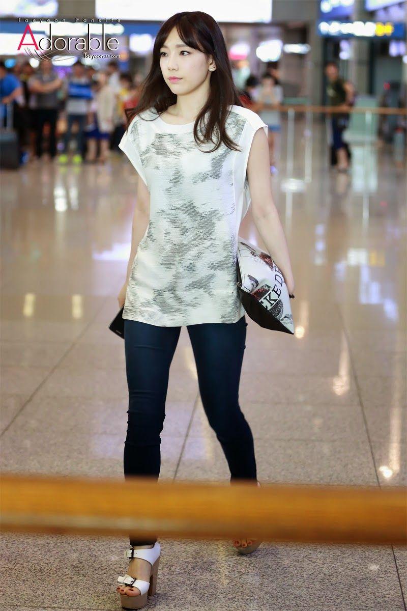 2019 year style- Taeyeon Snsd airport fashion