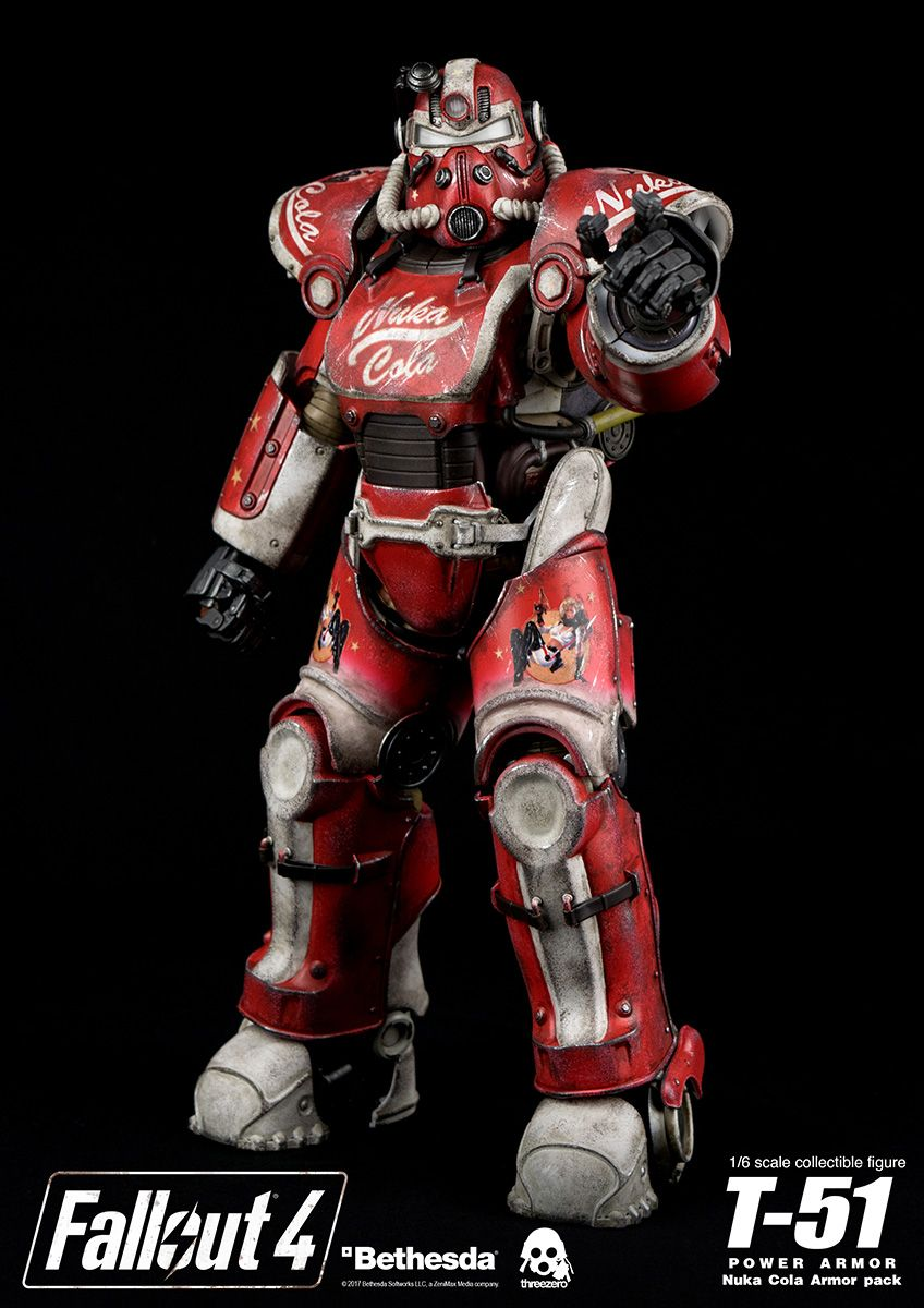 Fallout 4 T 51 Power Armor Nuka Cola Armor Pack Fallout 4