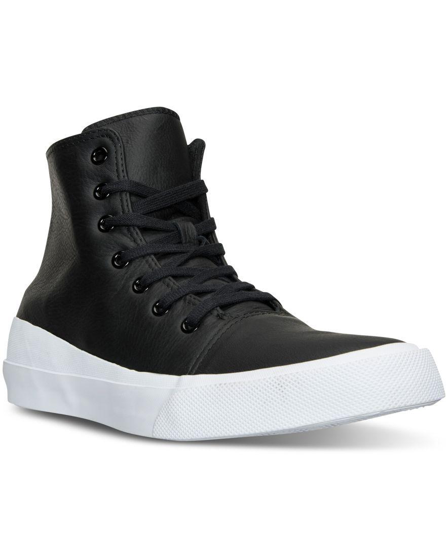 54a4671a4753 Converse Men s Chuck Taylor All Star Quantum Leather High Top Casual  Sneakers from Finish Line