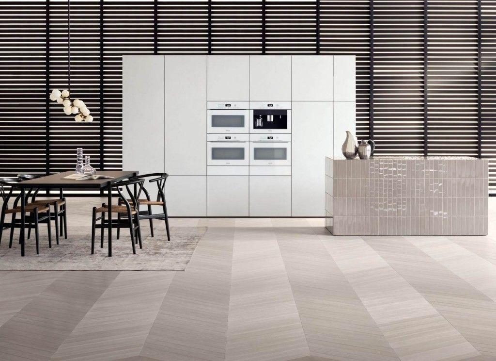 Inbouwapparatuur Miele Artline - greeploze keukenapparatuur: ovens ...