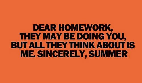 Homework quotes funny