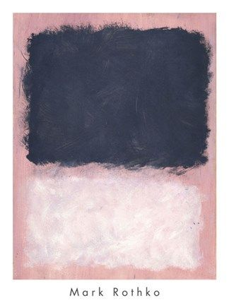 Mark Rothko UNTITLED 100 x 67  cm  STAMPA TELA QUADRI CANVAS
