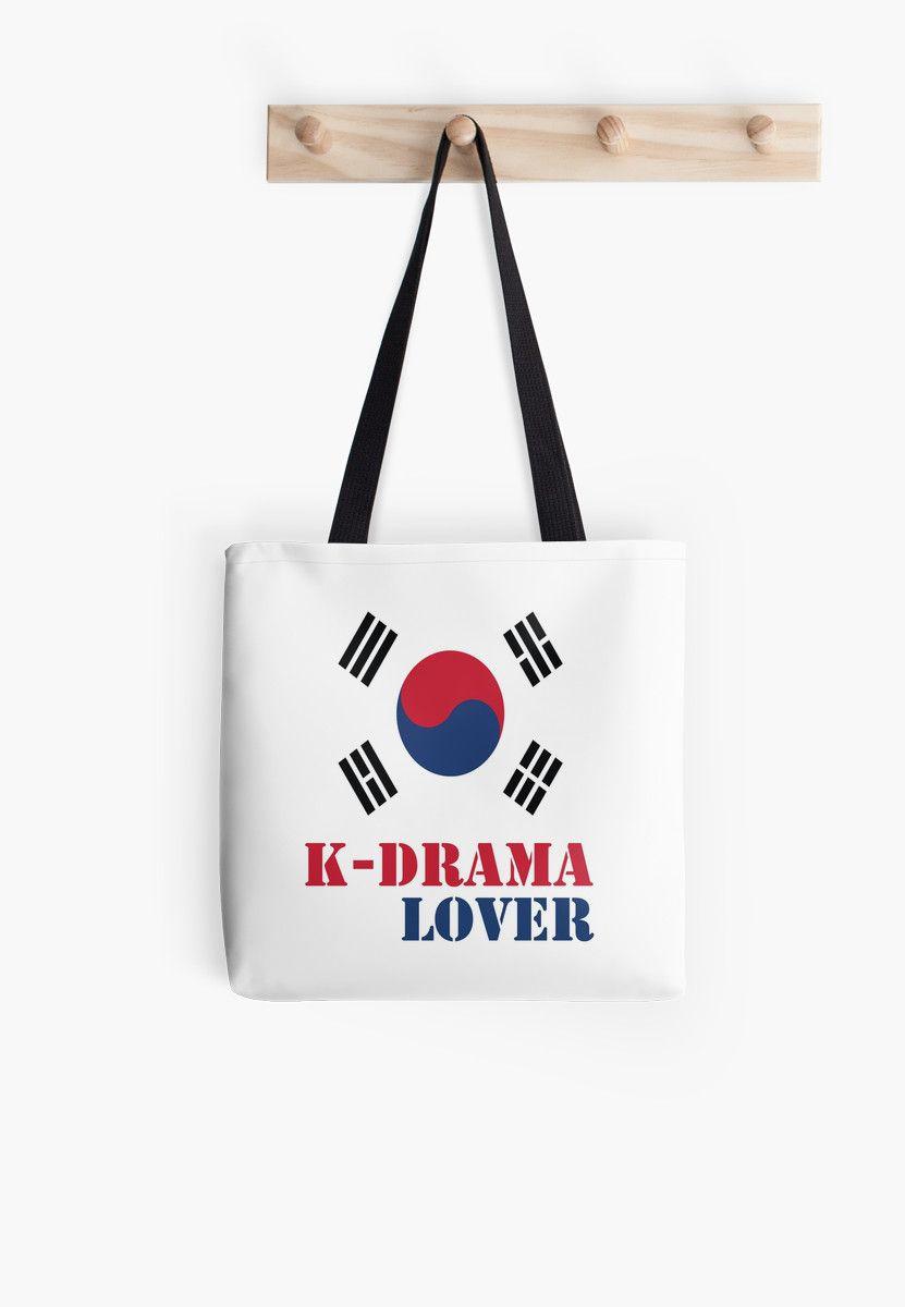 d44ba7dd73 K-drama Lover 2  Tote Bag by epoliveira