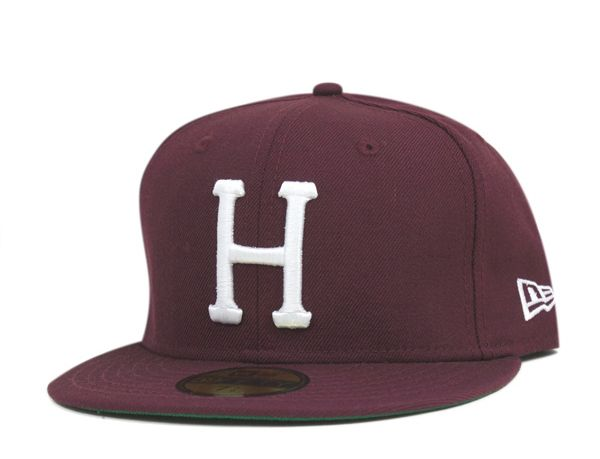 406f0220725 Classic H Wine 59Fifty Fitted Baseball Cap by HUF x NEW ERA ...