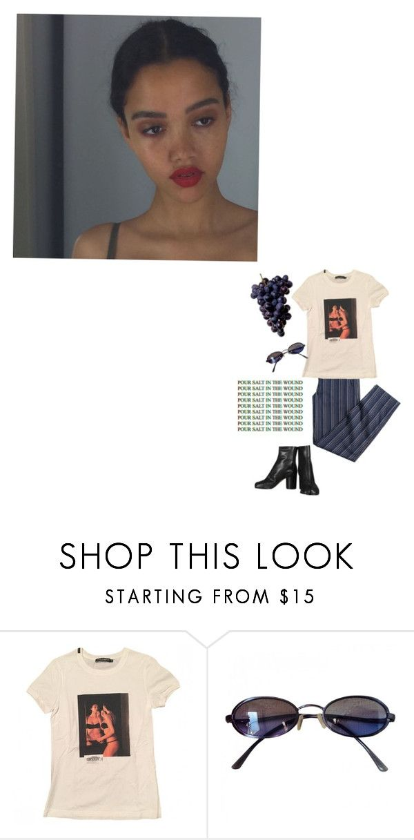 """""""cruel interludes"""" by pinkmermaidss ❤ liked on Polyvore featuring Dolce&Gabbana, Fendi and Maison Margiela"""