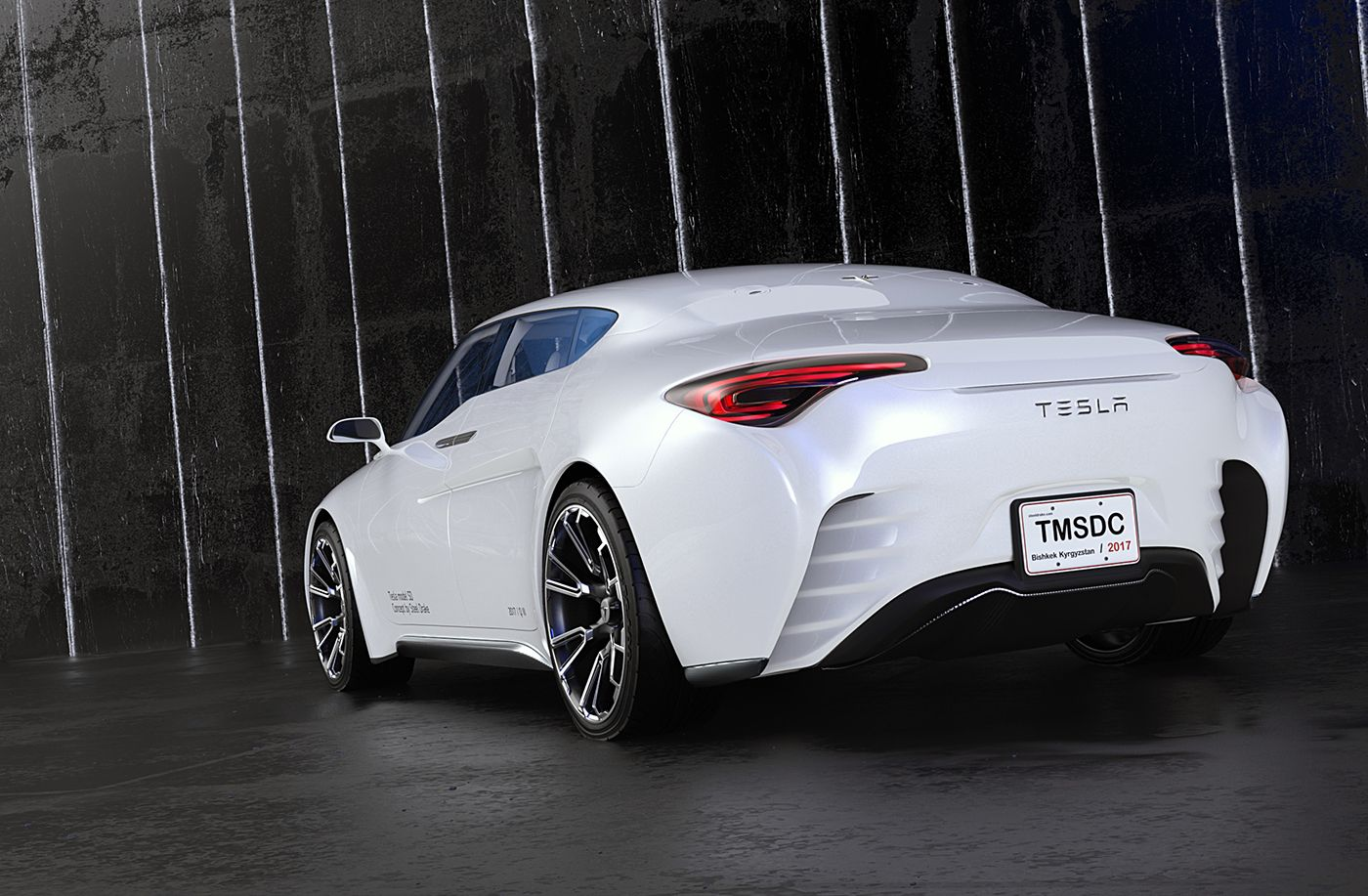 Tesla Model Sd By Steel Drake