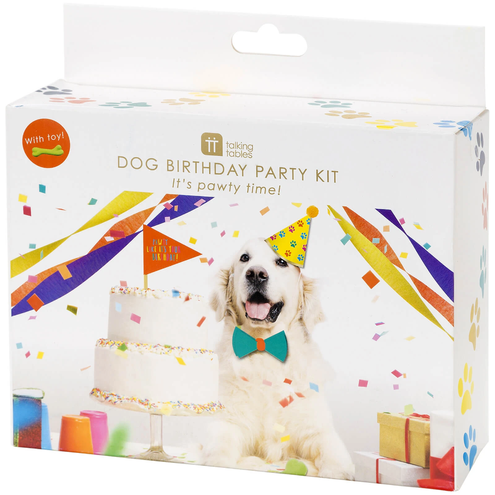 Pawty Party Pet Party In A Box Animal Party Party In A Box Pets