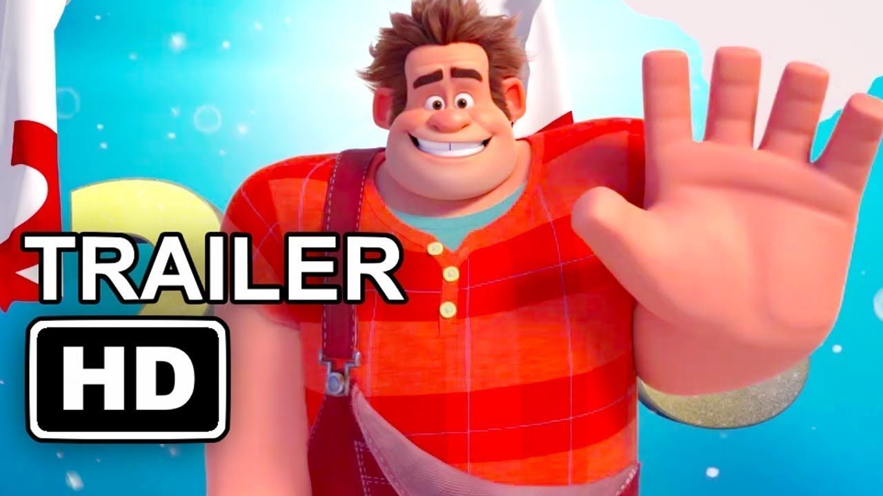 WRECK IT RALPH 2 New Year Trailer 2018 Disney Animated ...