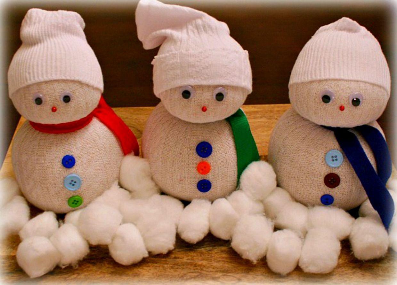Животные, картинки снеговик своими руками