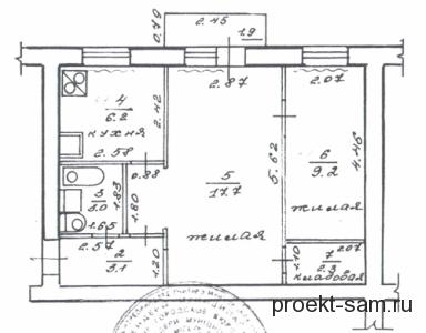 Схема в 2 комнатной квартиры в хрущевке фото