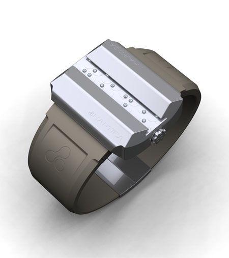Haptica Braille Watch