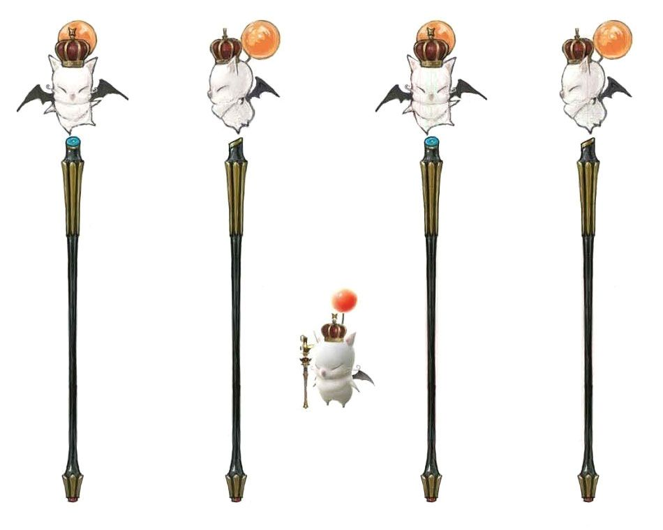Thaumaturge Moogle Rod From Final Fantasy Xiv A Realm Reborn