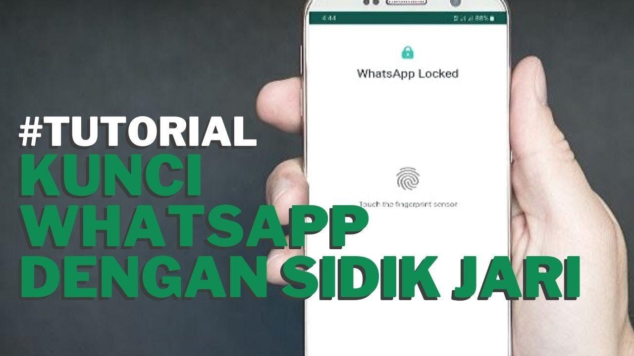 Pin Di Cara Mengunci Whatsapp Dengan Sidik Jari