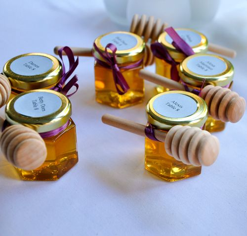 Homemade Honey Jar Wedding Favors Ideas From Our Brides