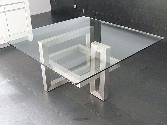 mesas de comedor modernas de cristal - Buscar con Google   mesas ...