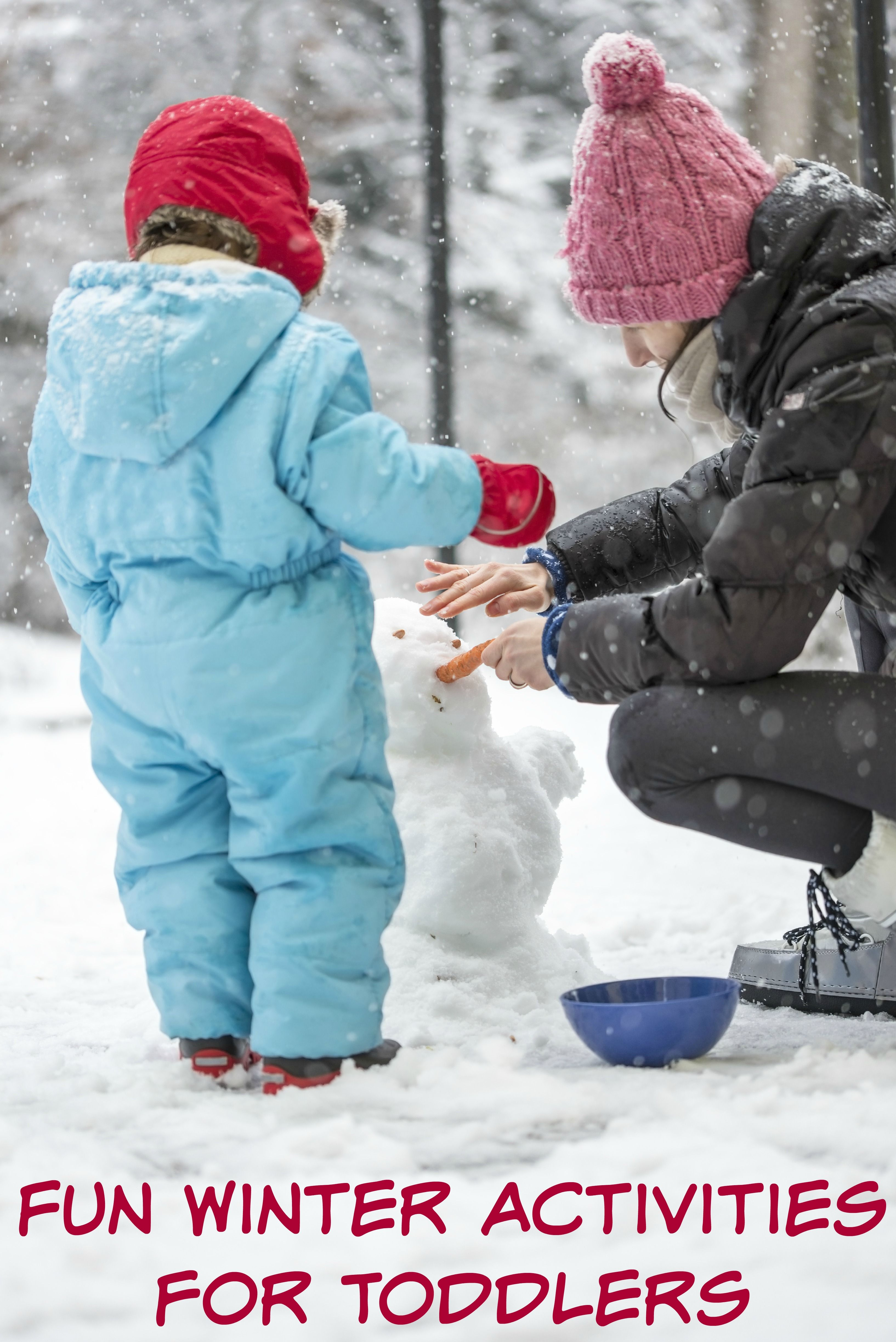 Fun Winter Activities for Toddlers Frugal