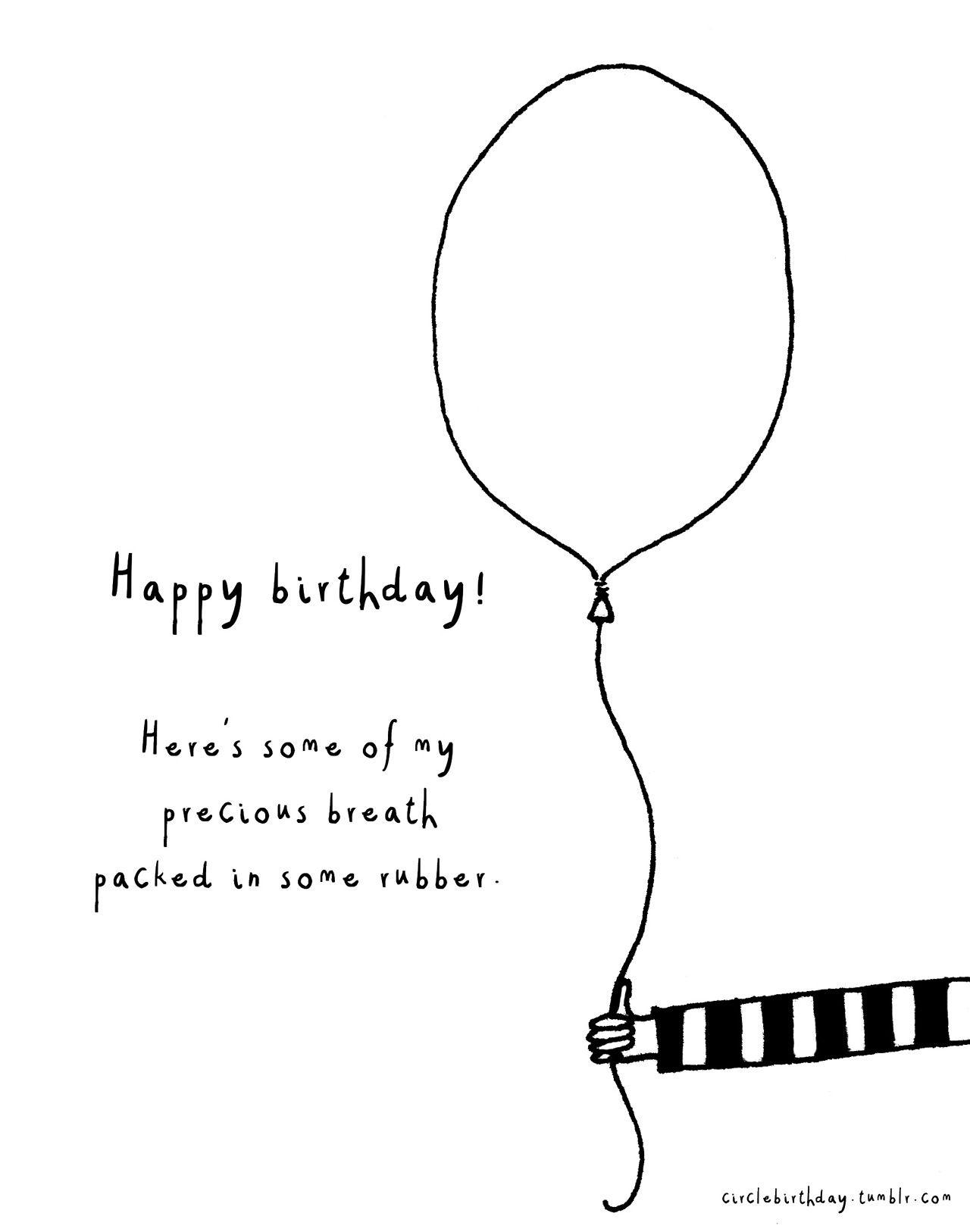 Circle Birthday - Unusual Drawings: Photo | Happy birthday ...