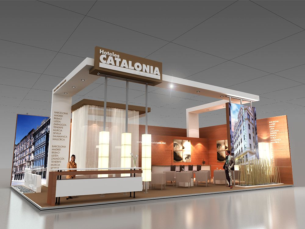 EXHIBIT DESIGN - MEDIUM by Julieta Iele at Coroflot.com