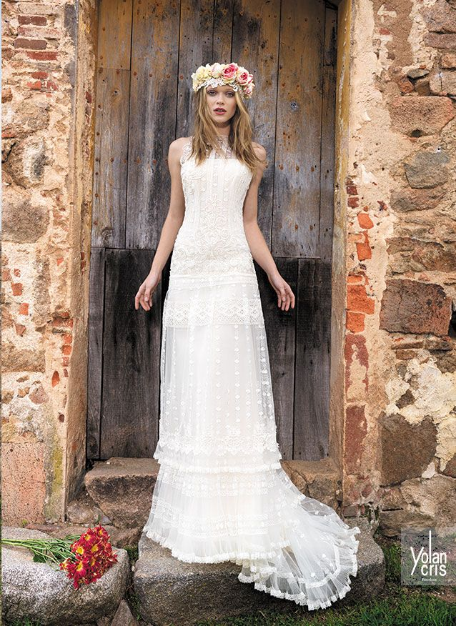 vestido novia bohemio ibicenco | wedding dress | pinterest