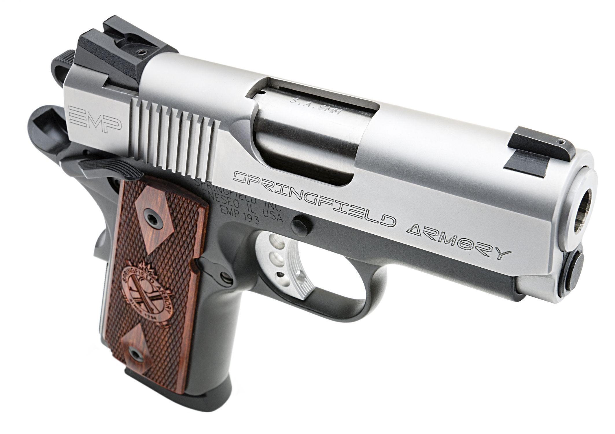 Springfield Armory® aluminum-frame 1911 EMP® 9MM   GuNs   Pinterest