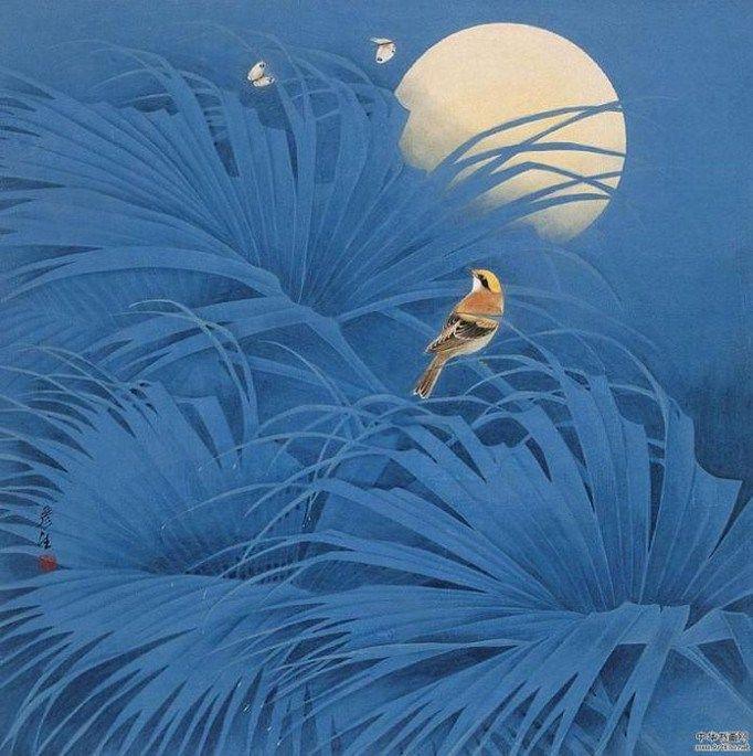 Pintura do artista chinês Yansheng.