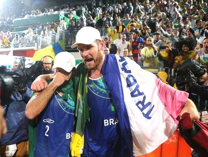 Alison e Bruno, Brasil X Itália Vôlei de praia Final