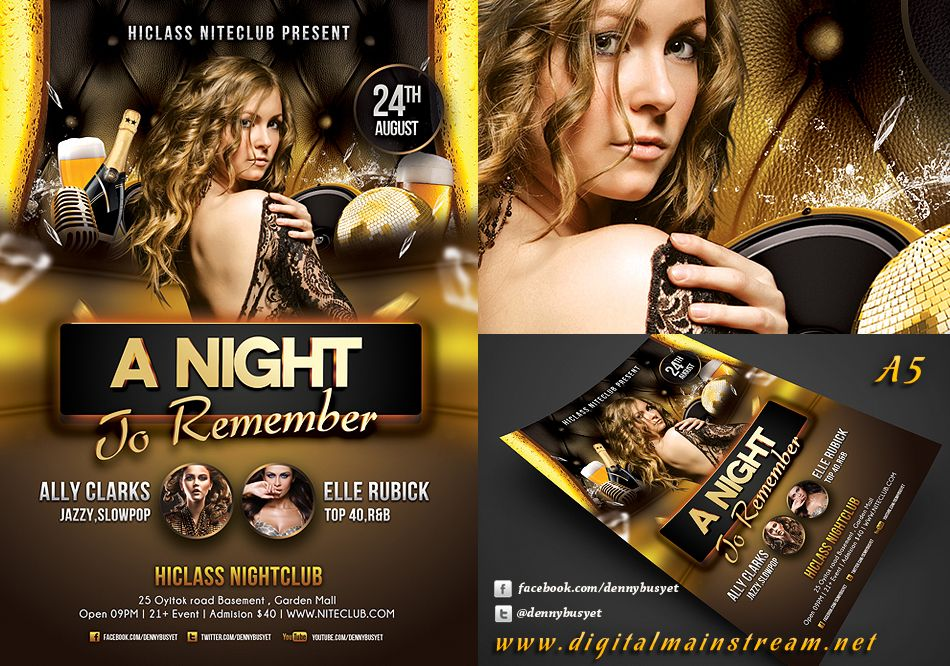 photography advertisement flyer Google Search – Night Club Flyer