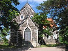 Taalintehtaan kirkko.