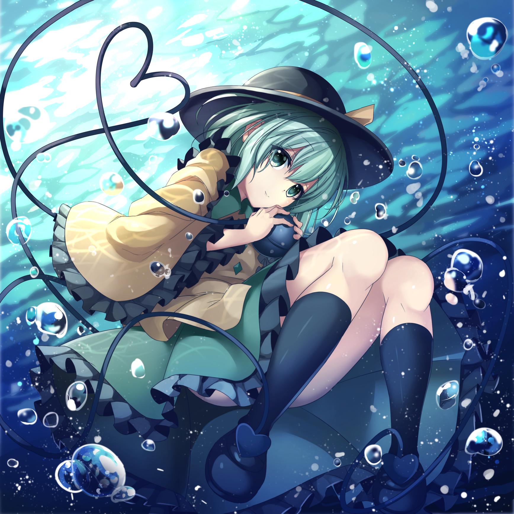 Komeiji Koishi 画像あり アニメの女の子 壁紙の背景