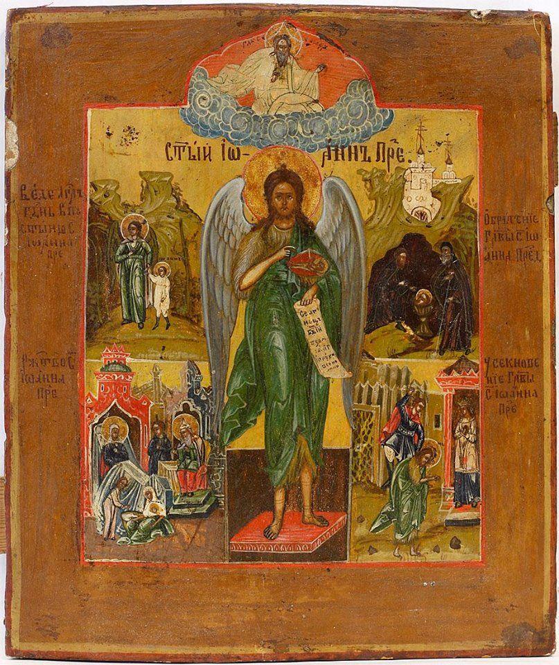 Heilige Johannes de Voorloper