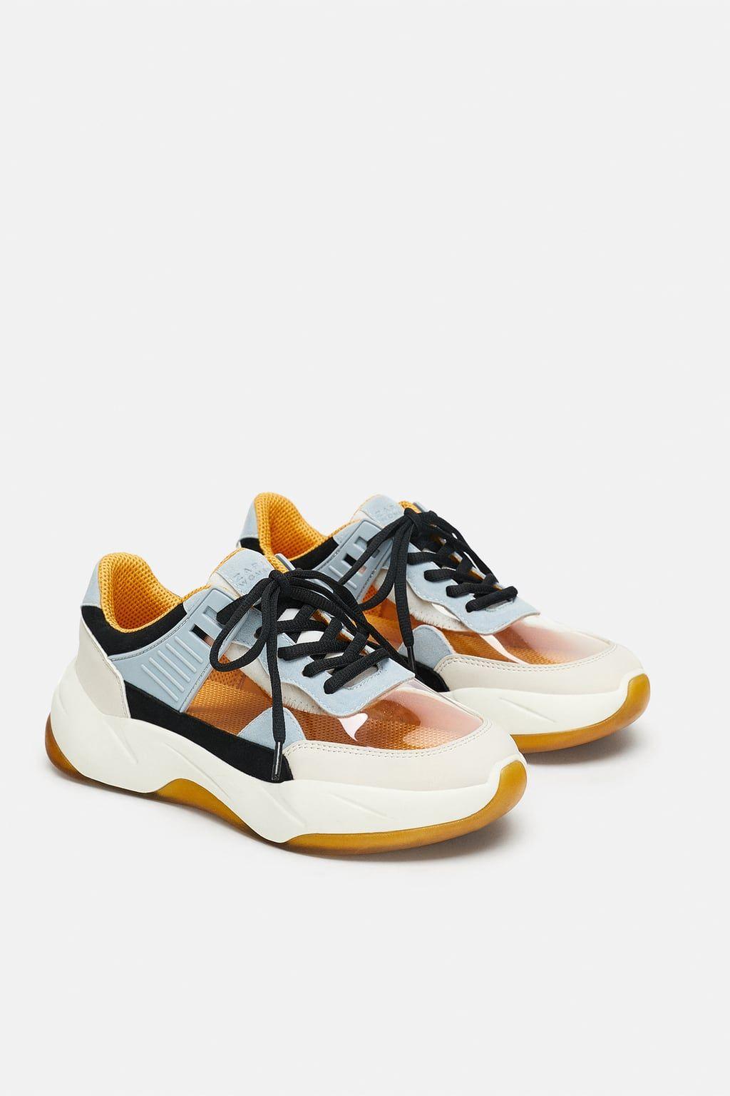 Zara sneakers, Dad shoes, Zara