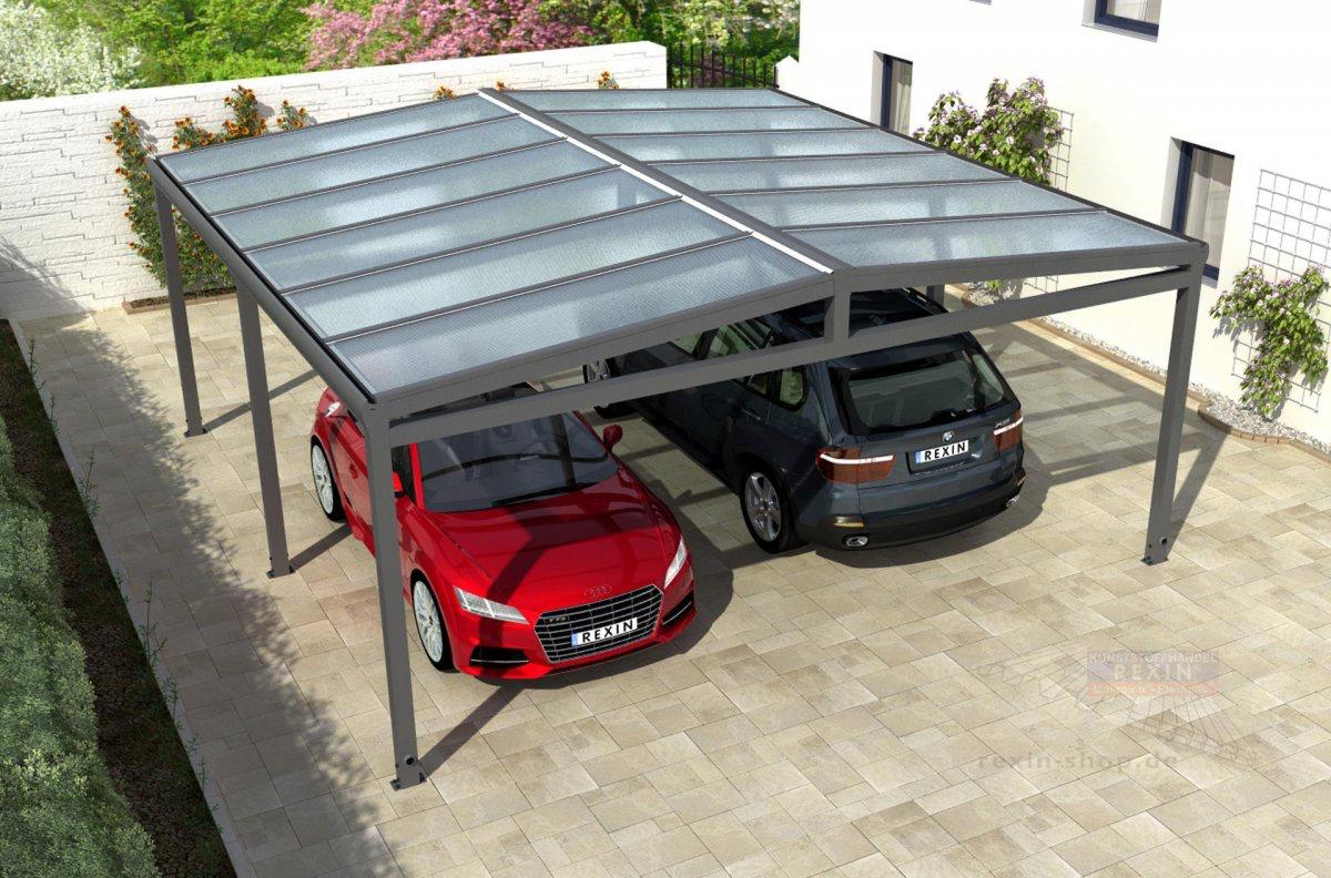 Rexin Shop Alu Carport Garagenbau Carport Bausatz