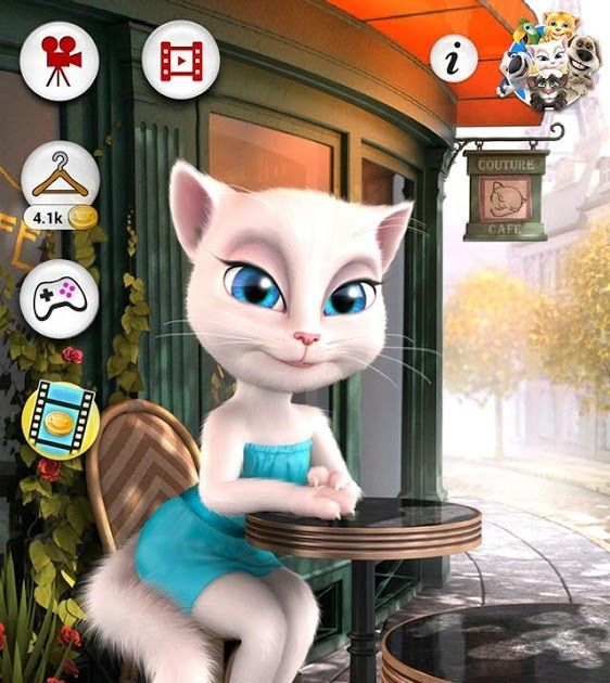 Free Download Talking Angela Game Apps For Laptop Pc