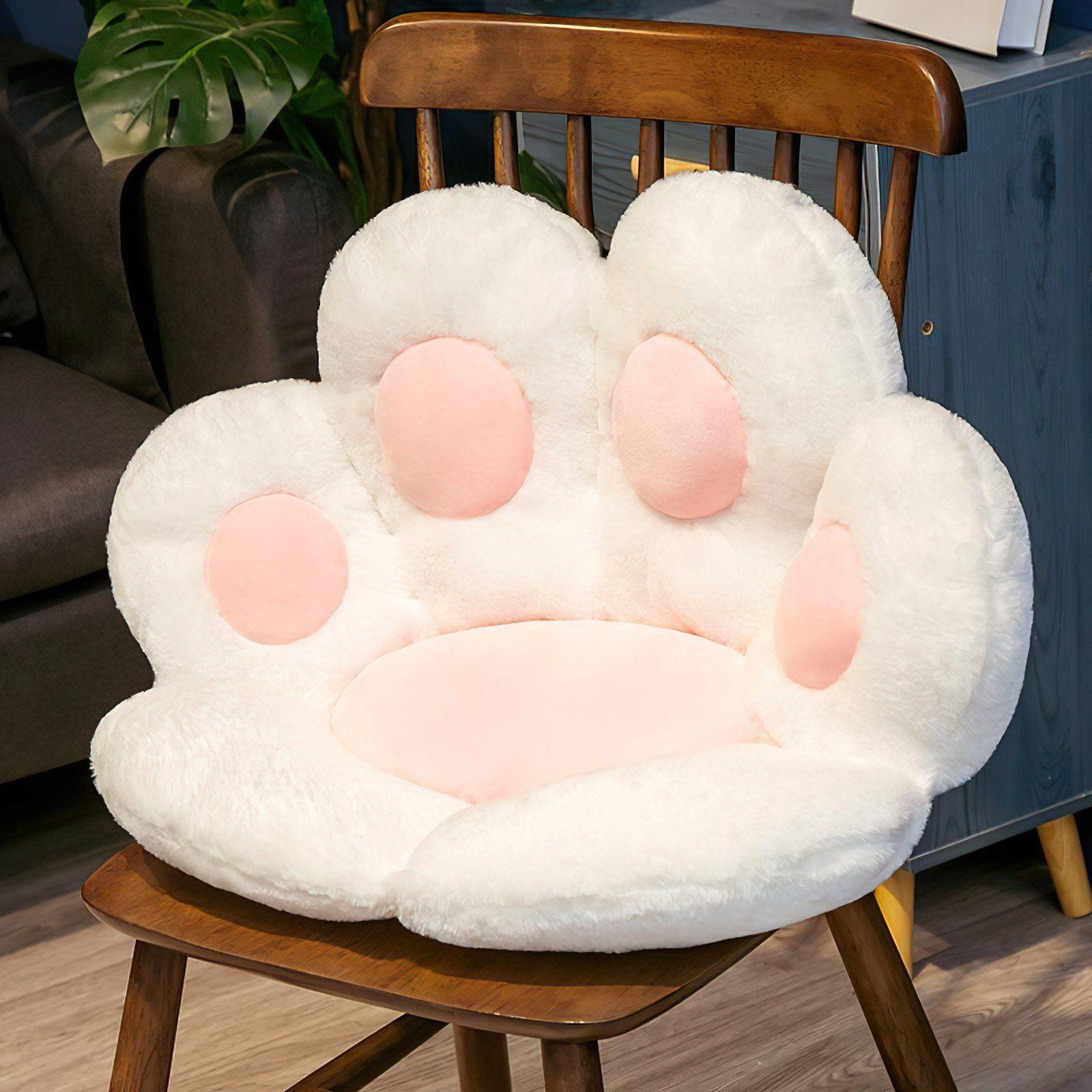 Paw Pillow L - white