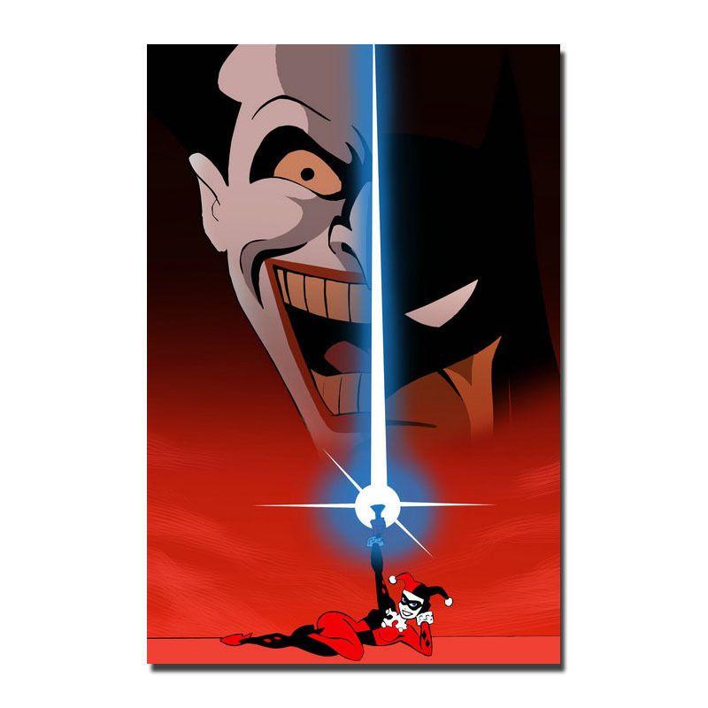 Joker Batman The Animated Series DC Superhero Silk Poster 13x20 32x48inch J504