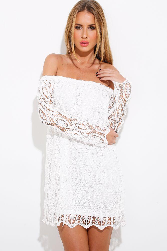 Moon Fire Dress, White, $65 + Free express shipping http://www.hellomollyfashion.com/moon-fire-dress-white.html