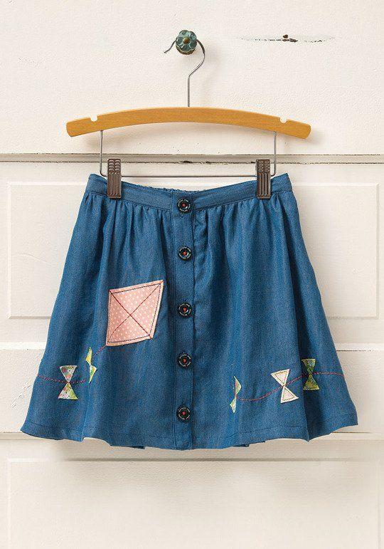 Fly a Kite Skirt, $44