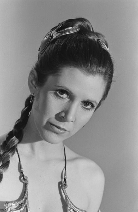 Carrie Fisher - Princess Leia - Return of the Jedi: