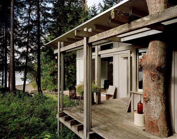 Cabin At Longbranch With Reverence To Nature Home Design And